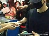 160522 Song Joong Ki 송중기 At Wuhan Tianhe International Airport to return to Korea
