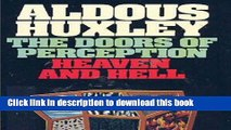 Collection Book The Doors of Perception   Heaven and Hell