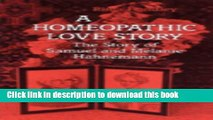 New Book A Homeopathic Love Story: The Story of Samuel and Melanie Hahnemann