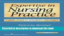 Collection Book Expertise in Nursing Practice: Caring, Clinical Judgment, and Ethics