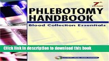 New Book Phlebotomy Handbook: Blood Collection Essentials (7th Edition)
