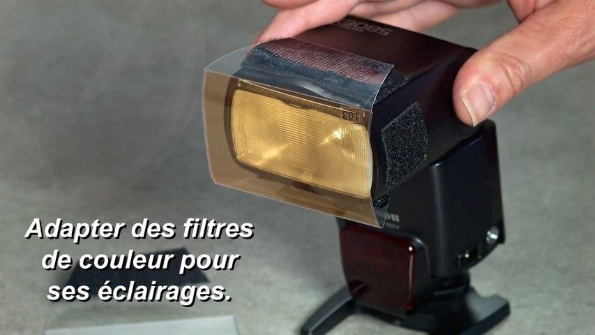 Astuce 10 - Fabriquer des filtres de couleur pour vos éclairages.