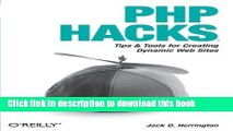 [New] EBook PHP Hacks: Tips   Tools For Creating Dynamic Websites Free Download