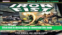[PDF] Iron Fist Epic Collection: The Fury of Iron Fist Popular Colection