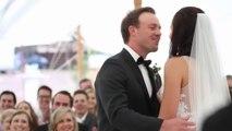 AB de Villiers Kissing his wife Danielle de Villiers on his Marriage.Video of his marriage