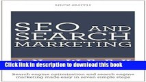 [New] EBook SEO And Search Marketing In A Week: Search Engine Optimization And Search Engine
