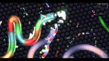 Slither.io Facebook Slither.io Skin Mod - Trolling World Biggest Snake (Slither.io Best Moments)