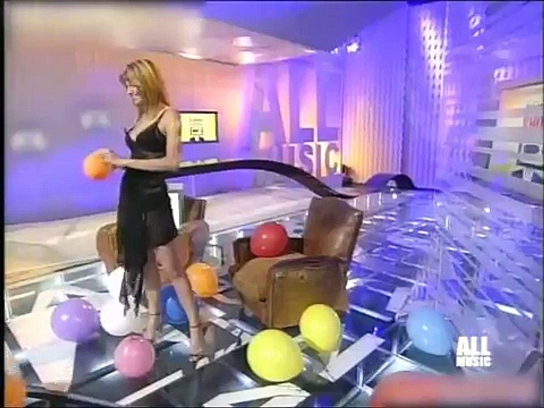 Pamela Rota Transparent Dress & Incredible Legs