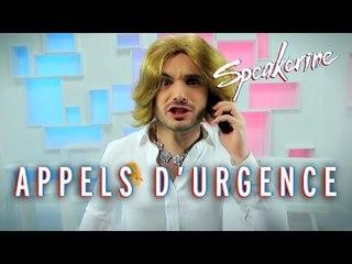 Appels d'urgence - Speakerine