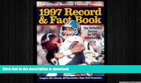 READ BOOK  Official 1997 National Football League Record   Fact Book (Official National Football