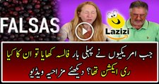 Check Out Americans Recation When They Try FALSA For The First Time