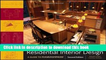 [PDF] Residential Interior Design: A Guide To Planning Spaces Full Online