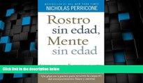 Big Deals  Rostro sin edad, mente sin edad (Spanish Edition)  Best Seller Books Best Seller