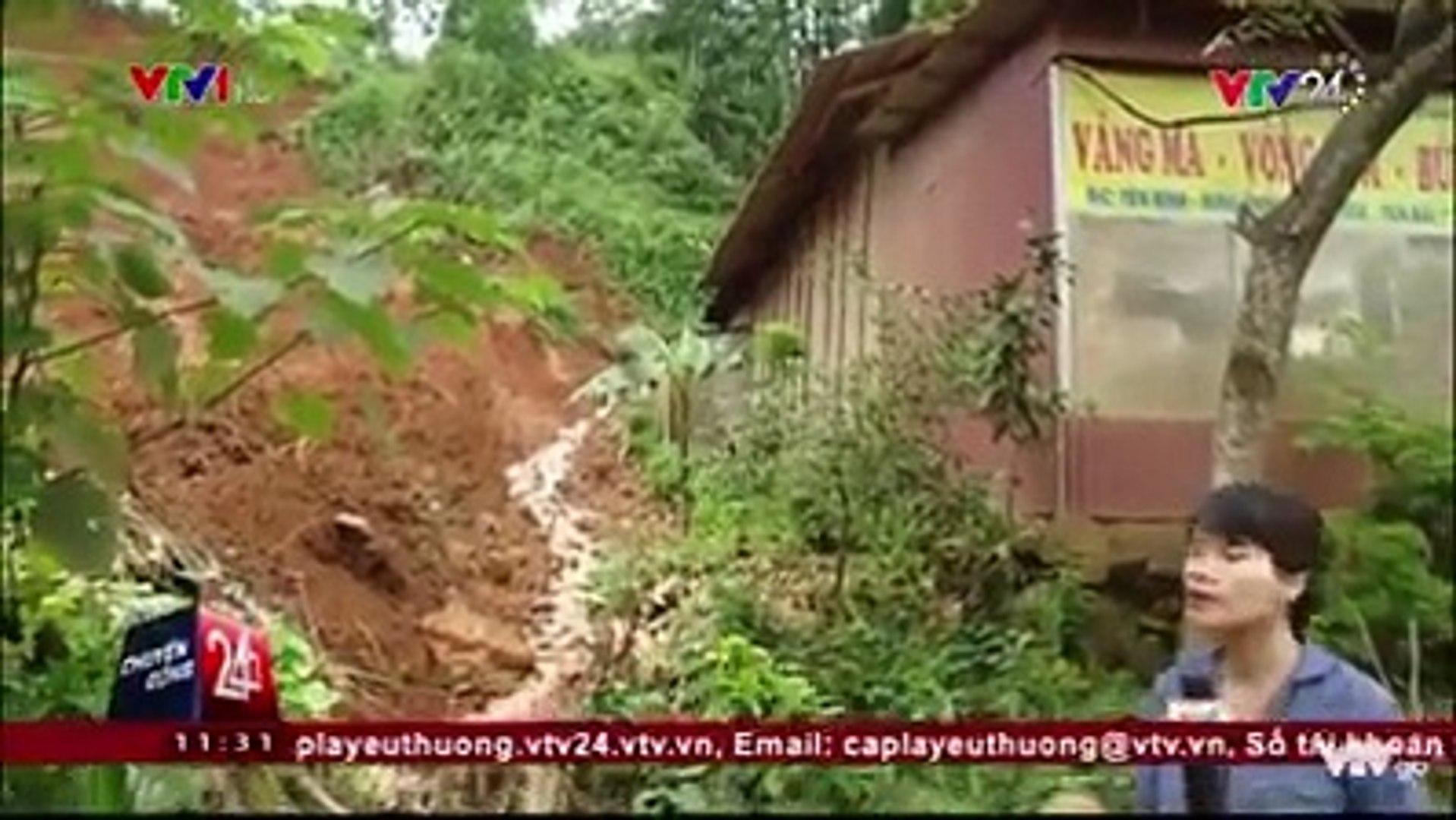 Yên Bái: Hàng trăm điểm sạt lở nghiêm trọng do mưa lũ