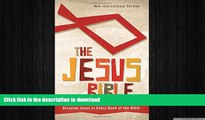 DOWNLOAD NIV, The Jesus Bible, Hardcover: Discover Jesus in Every Book of the Bible READ NOW PDF