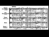 BWV 33-6 Ehr' sei Gott in dem höchsten Thron/Glory be to God on the highest Throne/Allein zu dir, Herr Jesu Christ/Alone on thee, Lord Jesus Christ, w score