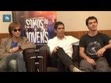 """Músicos da """"Legião Urbana"""" falam sobre o filme """"Somos Tão Jovens"""""""