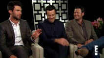 Adam Levine, Blake Shelton and Carson Daly on The Voice | E! Entertainment