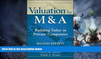 Must Have PDF  Valuation for M A: Building Value in Private Companies  Best Seller Books Most Wanted