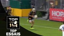 TOP Essais de la J1 – TOP 14 – Saison 2016-2017