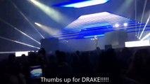 Drake live in Wells Fargo Center in Philadelphia - Show Intro - 21-08-2016