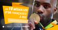 De Riner au couple Yoka-Mossely, les 10 médailles d'or françaises à Rio