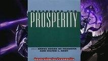 Read here Governing for Prosperity
