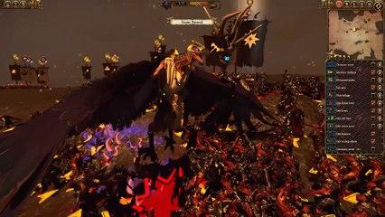 Total War : Warhammer - L'Elu Eternel vs Le Gardien Eternel de Total War : Warhammer