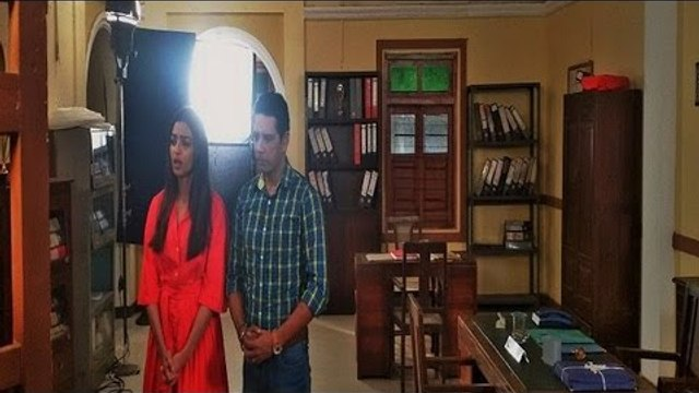 Crime Patrol Dial 100 - क्राइम पेट्रोल -Phobia - 20th May, 2016   Radhika Apte On Set