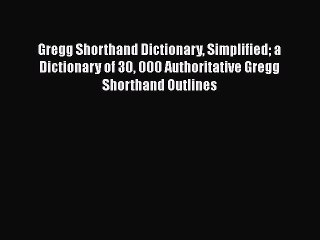 Gregg Shorthand Resource | Learn About, Share and Discuss