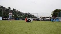 Alessandro Marchese, champion de Belgique de street soccer