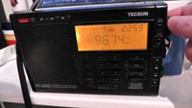 FM Radio Tropo band scan station picked up in Clacton Essex KL FM 96.7 West Norfolk Over BBC Kent