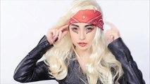 Lady Gaga Judas Look Tutorial|レディ・ガガ風ものまねメイク