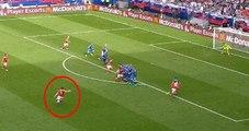Galler-Slovakya Maçında Gareth Bale Harika Bir Frikik Golü Attı