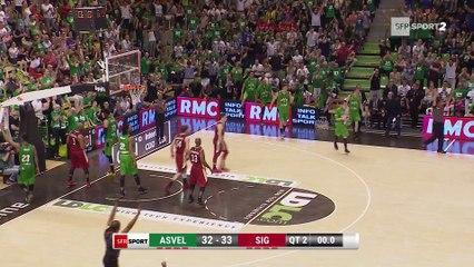Basket - Pro A - L'ASVEL égalise face à la SIG !