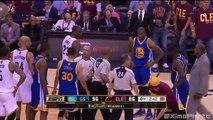 LeBron James & Draymond Green Scuffle | Warriors vs Cavaliers | Game 4 | 2016 NBA Finals
