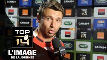 La dernière interview « toulousaine » d'après-match et la sportivité de Vincent Clerc