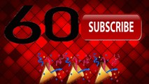 60 Subs-Thank you guys so much!!
