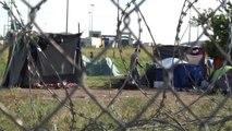 Sığınmacıların Macaristan Sınırındaki Bekleyişi Sürüyor