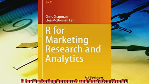 Popular book  R for Marketing Research and Analytics Use R