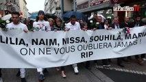 Incendie à Saint-Denis : marche blanche en hommage aux cinq victimes