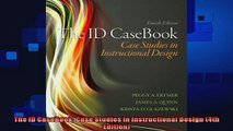 best book  The ID CaseBook Case Studies in Instructional Design 4th Edition