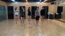 120902 EXID 'I Feel Good' Dance Practice