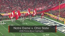 2016 Fiesta Bowl highlights: Ohio State defeats Notre Dame 44-28