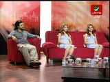 InterviewPart4 before Prime 10 Safaa & Hanaa X-Factor Rotana