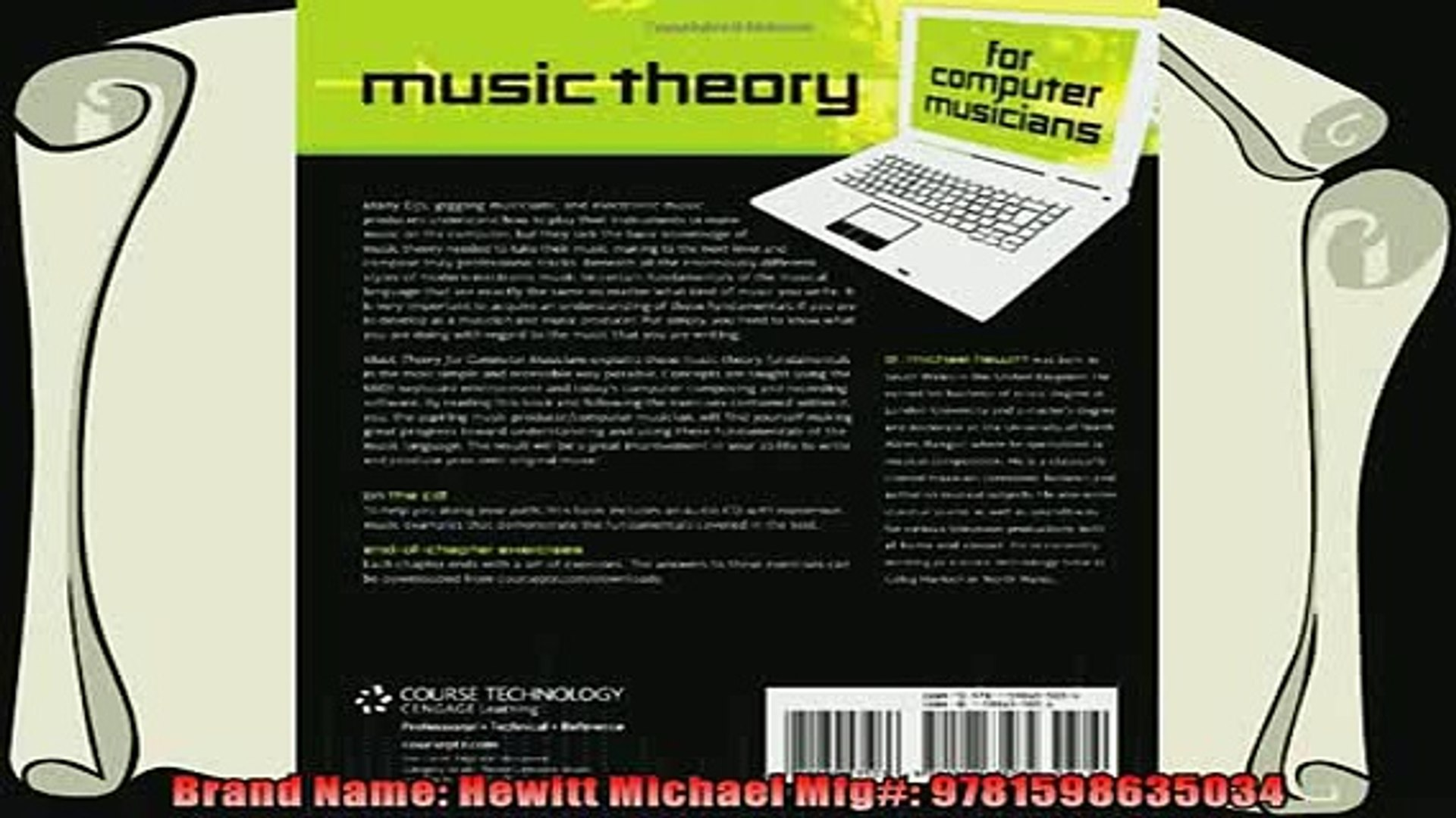 read now  Music Theory for Computer Musicians