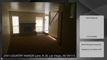 2941 COUNTRY MANOR Lane, # 28, Las Vegas, NV 89115