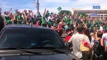 La fête a repris ce dimanche entre supporters nord-irlandais et polonais à Nice