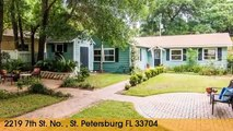 Home For Sale: 2219 7th St. No. St. Petersburg, Florida 33704