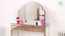 Venetian Curved Dressing Table Mirror